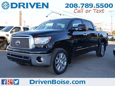 2011 Toyota Tundra for sale at DRIVEN in Boise ID