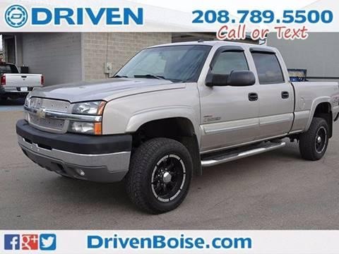 2004 Chevrolet Silverado 2500HD for sale at DRIVEN in Boise ID