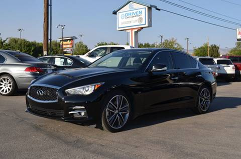 2015 Infiniti Q50 for sale at DRIVEN in Boise ID