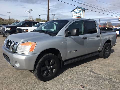 2009 Nissan Titan for sale at DRIVEN in Boise ID