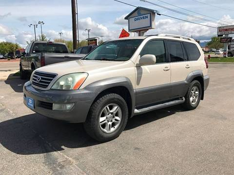 2003 Lexus GX 470 for sale at DRIVEN in Boise ID