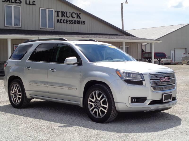 2013 GMC Acadia for sale at Burkholder Truck Sales LLC (Edina) in Edina MO
