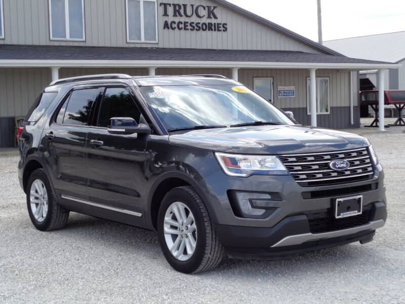 2017 Ford Explorer for sale at Burkholder Truck Sales LLC (Edina) in Edina MO