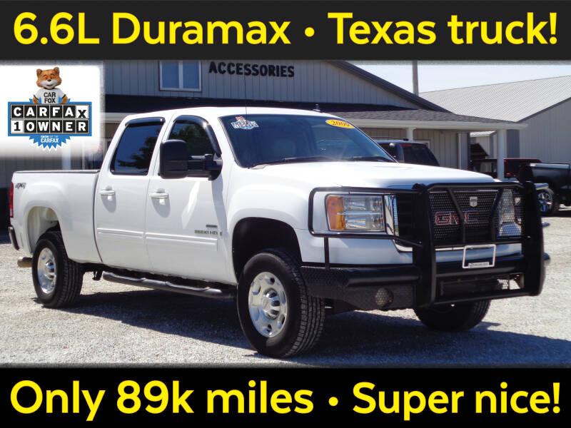 2009 GMC Sierra 2500HD for sale at Burkholder Truck Sales LLC (Edina) in Edina MO