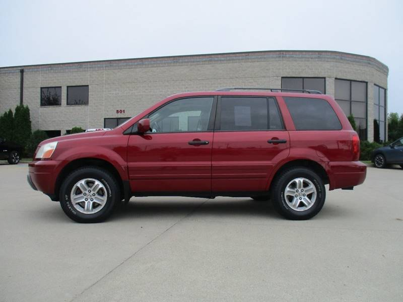 2005 Honda Pilot 4dr EX-L 4WD SUV w/Leather and Entertainment System - Fargo ND