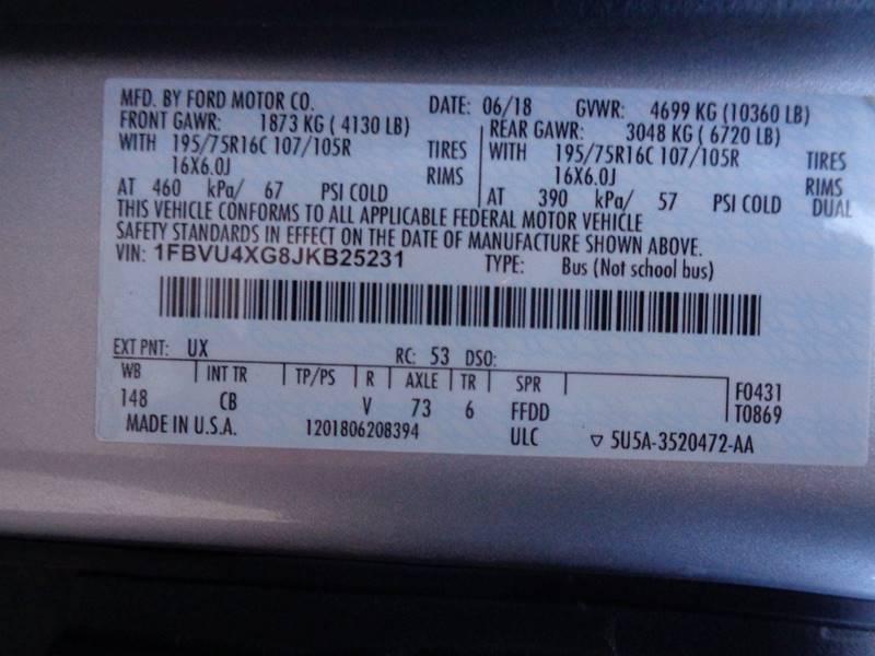 2018 Ford Transit Passenger 350 XLT (image 50)