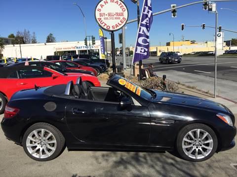 2016 Mercedes-Benz SLK for sale in San Mateo, CA