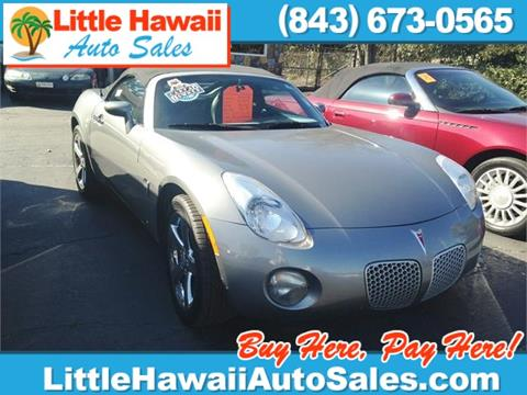 2007 Pontiac Solstice for sale in Florence, SC
