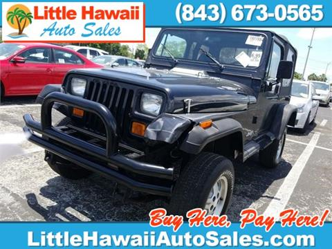 1995 Jeep Wrangler for sale in Florence, SC