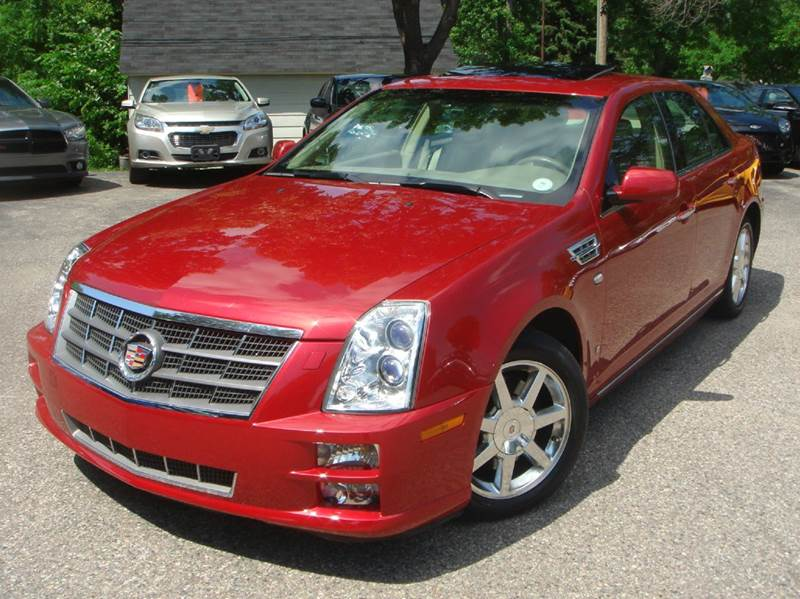 2008 Cadillac Sts V6 AWD 4dr Sedan w/ Navigation Screen In