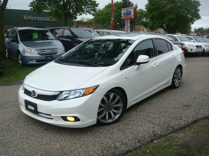 2012 Honda Civic Si 4dr Sedan   Shakopee MN