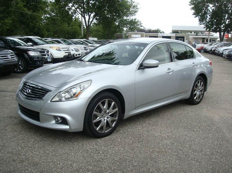 2012 Infiniti G37 Sedan X Sport Appearance Edition AWD 4dr Sedan   Shakopee  MN