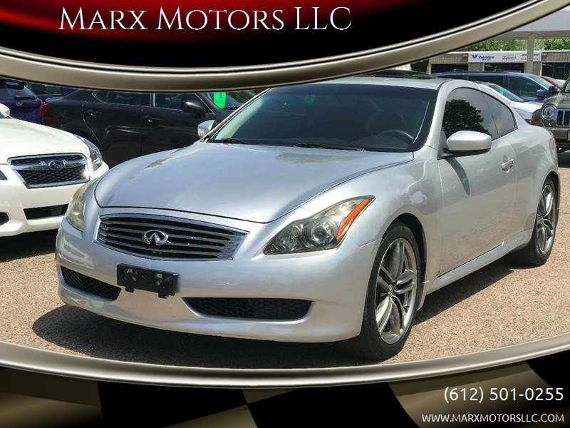 2011 Infiniti G37 Coupe Journey 2dr Coupe In Shakopee Mn Marx
