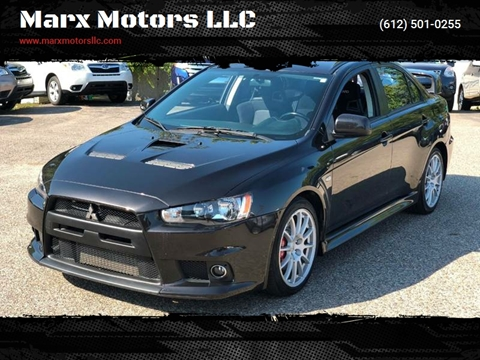 2013 Mitsubishi Lancer Evolution For Sale In Shakopee, MN
