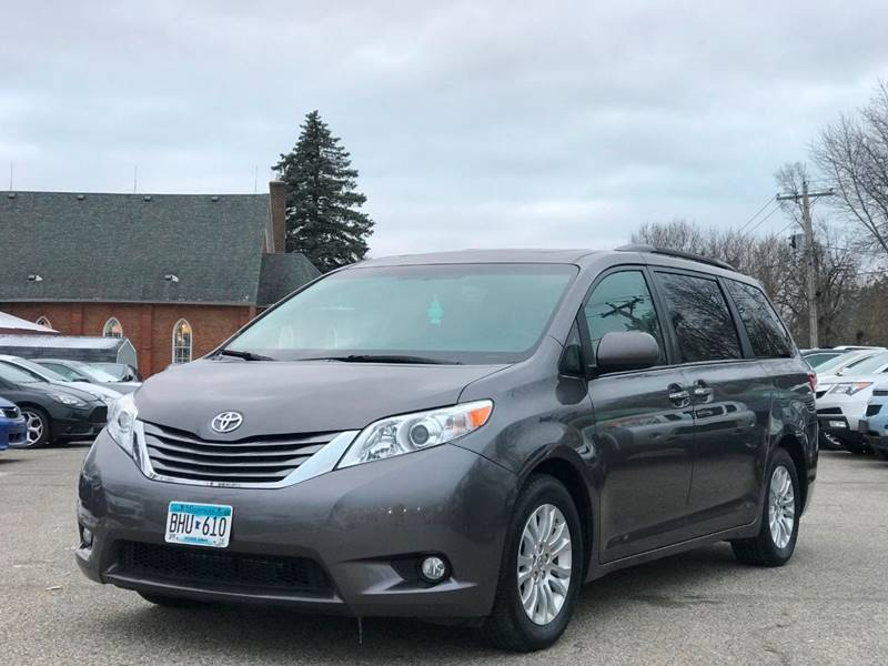2015 toyota sienna xle premium 8 passenger 4dr mini van in shakopee mn marx motors llc. Black Bedroom Furniture Sets. Home Design Ideas