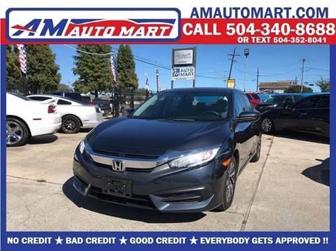 2016 Honda Civic for sale in Marrero, LA