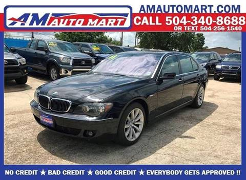 Used 2008 Bmw 7 Series For Sale In Louisiana