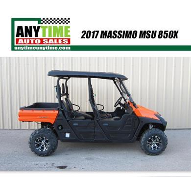 2017 Massimo MSU 850X for sale in Rapid City, SD