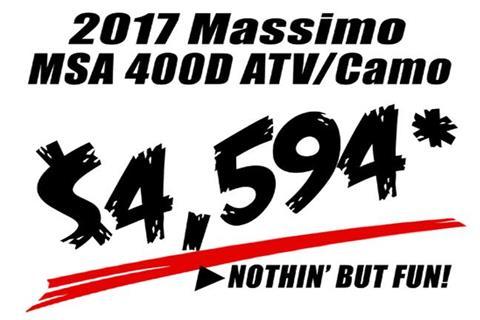 2019 Massimo MSA 400D