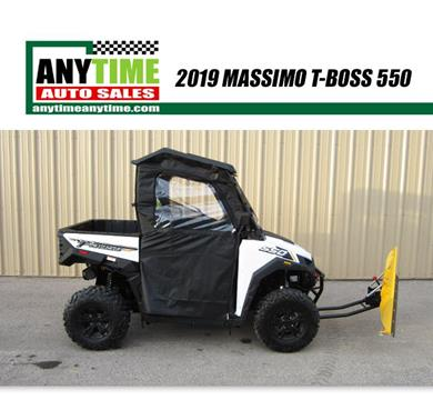 2019 Massimo T-Boss 550 for sale in Rapid City, SD