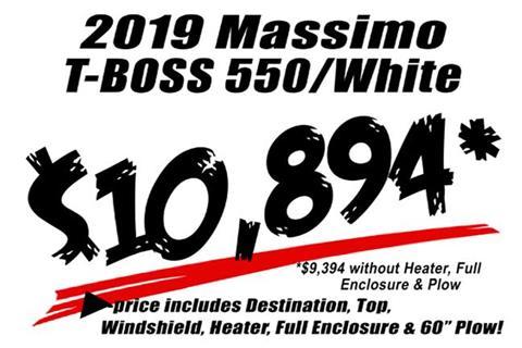 2019 Massimo T-Boss 550