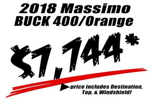2018 Massimo Buck 400