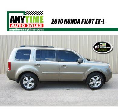 2010 Honda Pilot EX-L w/DVD for sale at Anytime Auto Sales in Rapid City SD