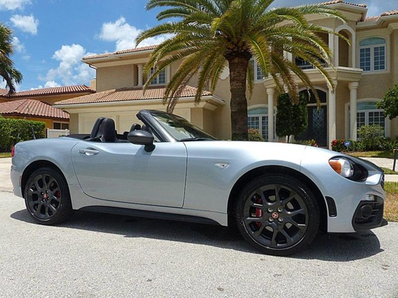 2018 FIAT 124 Spider for sale at Lifetime Automotive Group in Pompano Beach FL