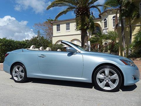 2010 Lexus IS 250C for sale in Pompano Beach, FL