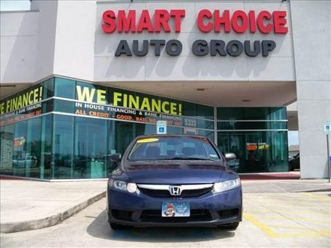 2011 Honda Civic for sale in Houston, TX