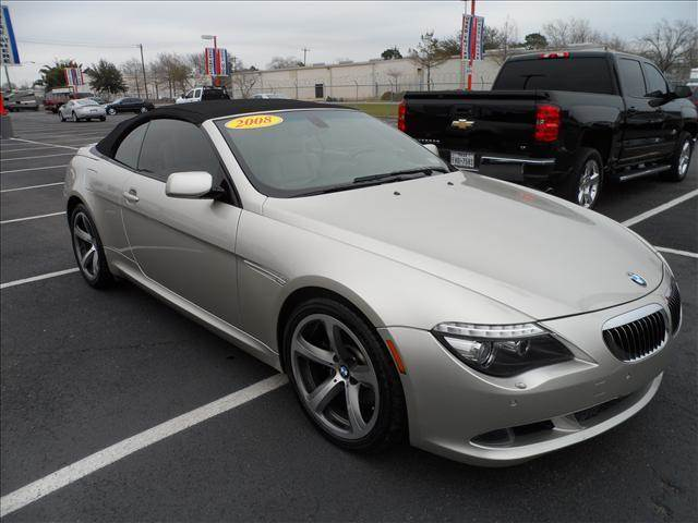 2008 Bmw 6 Series 650i Convertible In Houston TX - SMART CHOICE AUTO ...
