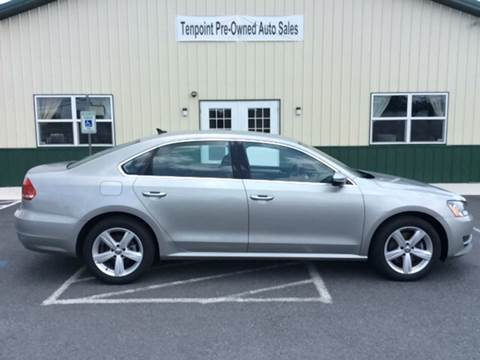 2012 Volkswagen Passat for sale in Martinsburg, WV