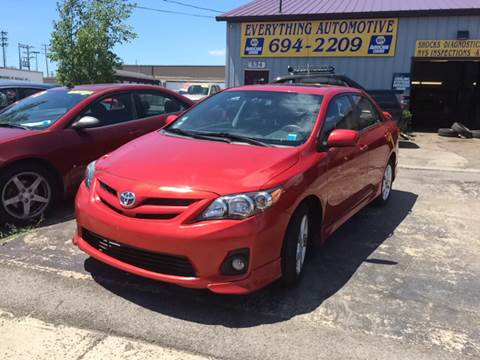 2011 Toyota Corolla for sale at Everything Automotive in Tonawanda NY