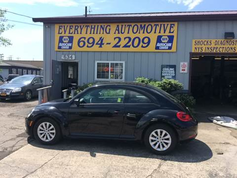 2014 Volkswagen Beetle for sale at Everything Automotive in Tonawanda NY