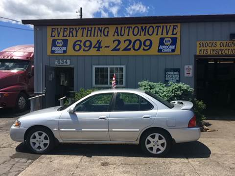 2006 Nissan Sentra for sale at Everything Automotive in Tonawanda NY