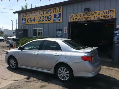 2009 Toyota Corolla for sale at Everything Automotive in Tonawanda NY