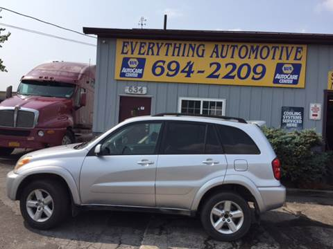2004 Toyota RAV4 for sale at Everything Automotive in Tonawanda NY