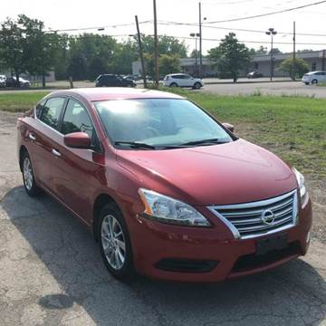 2013 Nissan Sentra for sale at Everything Automotive in Tonawanda NY
