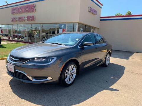 2016 Chrysler 200 for sale in Killeen, TX