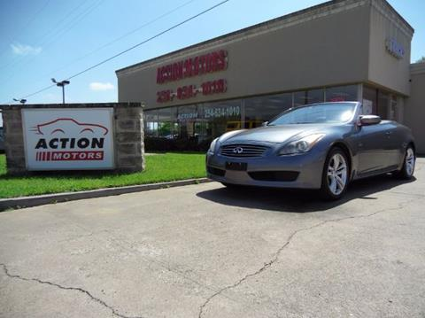 2010 Infiniti G37 Convertible for sale in Killeen, TX