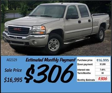 2005 GMC Sierra 1500HD for sale in Grangeville, ID