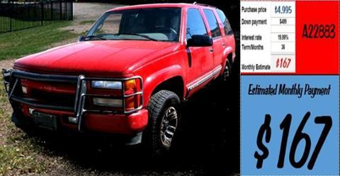 2000 Chevrolet Tahoe Limited/Z71 for sale in Grangeville, ID