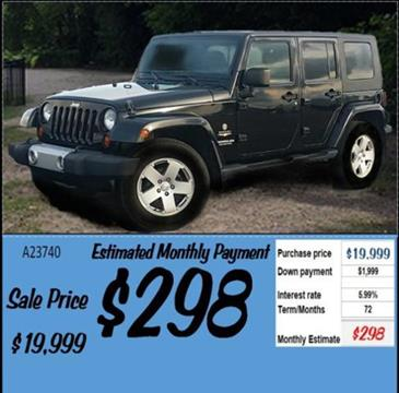 2010 Jeep Wrangler Unlimited for sale in Grangeville, ID
