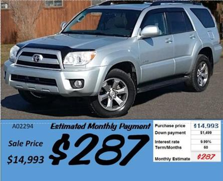 Used Toyota 4runner For Sale In Idaho Carsforsale Com