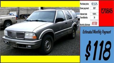 2000 Oldsmobile Bravada for sale in Grangeville, ID