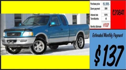1998 Ford F-150 for sale in Grangeville, ID
