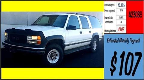 1997 GMC Suburban for sale in Grangeville, ID