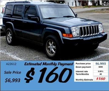 2007 Jeep Commander for sale in Grangeville, ID