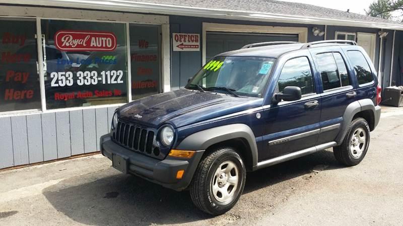 2007 Jeep Liberty for sale at Royal Auto Sales, LLC in Algona WA