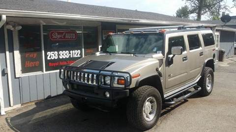 2003 HUMMER H2 for sale at Royal Auto Sales, LLC in Algona WA